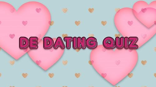 de dating quiz logo
