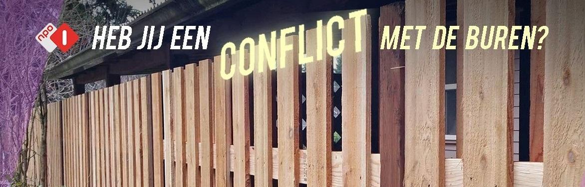 Conflict met de buren?